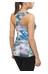 asics Graphic Fitted Tank Women Abstract Nuage
